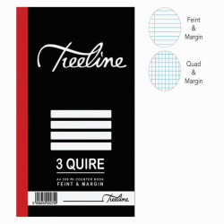 3 Quire Counter Books